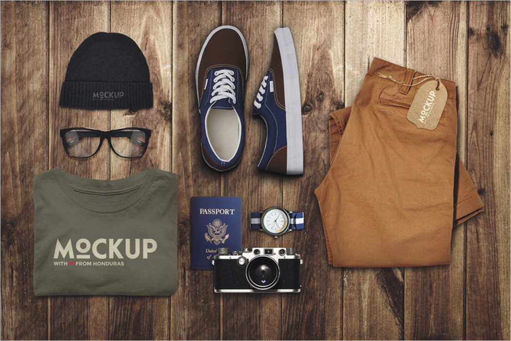 Clothes Mockup template
