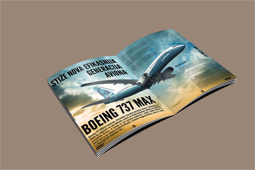 Magazine Layout Mockup Template