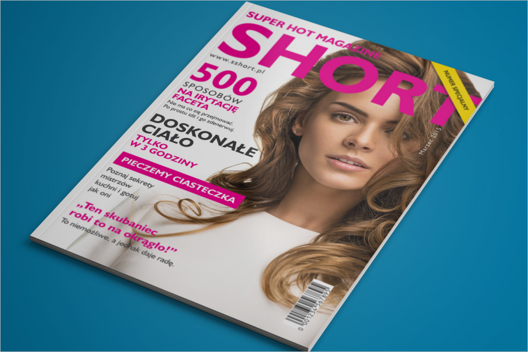 Photoshop Magazine Mockup Design