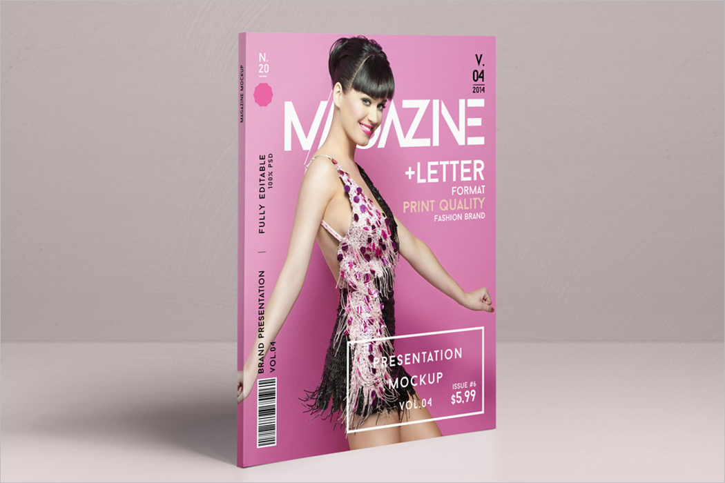 Stylish Magazine Mockup