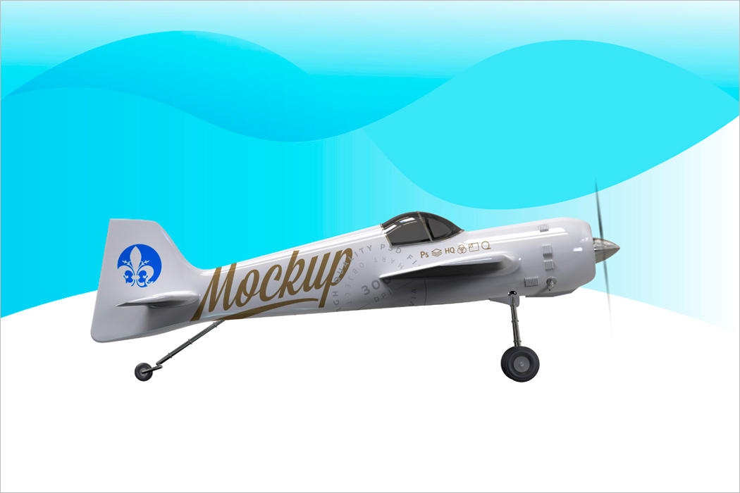 Airplane Mockup For Sale