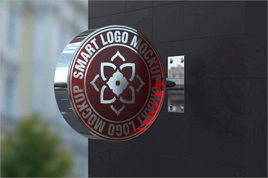 36+ 3D Mockups Free PSD Download | Logo, Wall