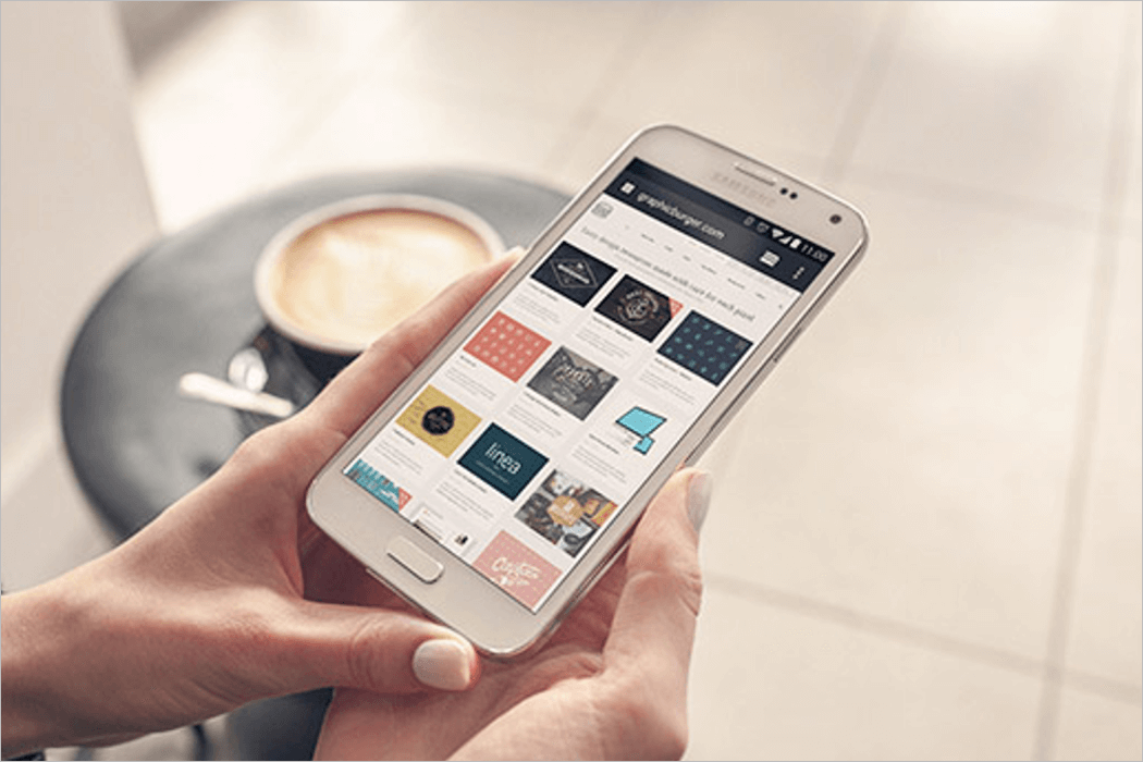 Android Mobile PSD MockUp