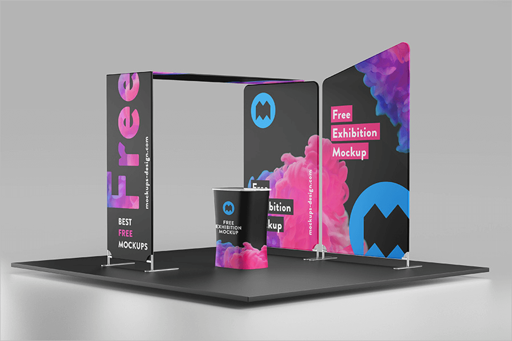 Exhibition Mockup Template