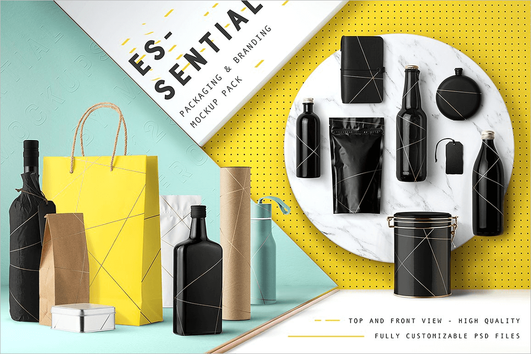 Product Packaging Mockup PSD
