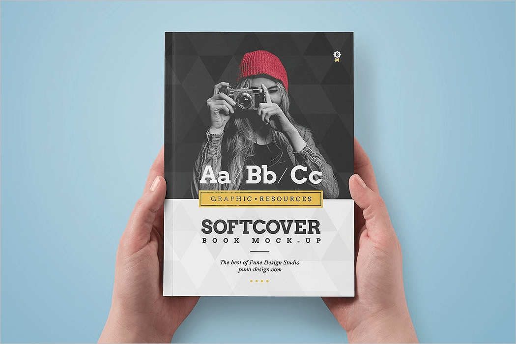 Softcover Book Mockup