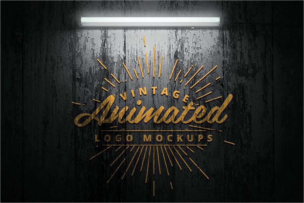animated 3d logo design
