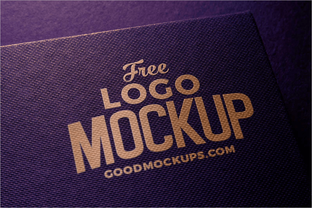 Photorealistic Logo Mockup Free Download
